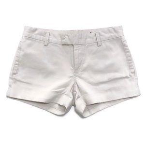 Blank NYC Khaki Roll-Cuff Twill Shorts